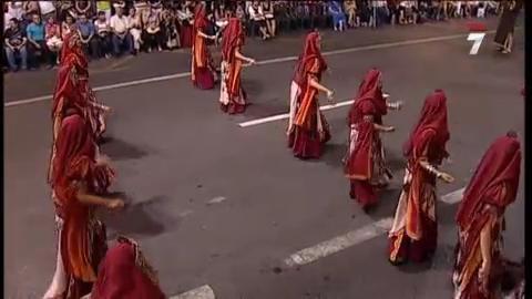 Desfile de Moros y Cristianos 2010